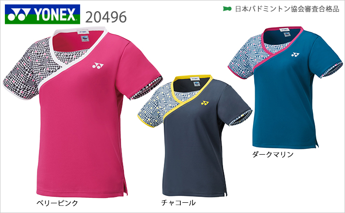 ヨネックス ウィメンズ ゲームシャツ 20496 YONEX 2019sportswearSS