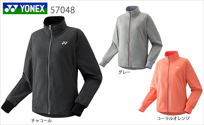 ヨネックス ウィメンズ ウォームアップシャツ(フィットスタイル) 57048 YONEX 2019sportswearSS
