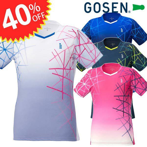レディース ゲームシャツ ゴーセン 20FW T2043  GOSEN