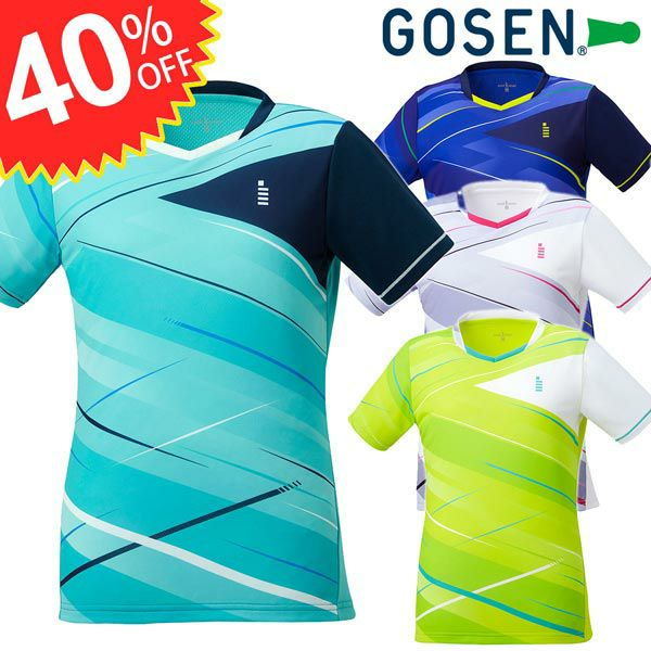 レディース ゲームシャツ ゴーセン 20FW T2047  GOSEN