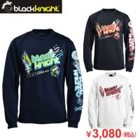 【先行予約】ブラックナイト ユニ ロングTシャツ  T-1212  バドミントン 男女兼用  2021bkaw bk